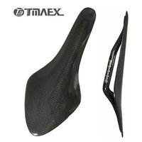Wholesale Carbon Saddle Matte - New Type Bicycle Saddle Glossy Matte Bike Carbon Saddle 3K Full Carbon Fiber MTB Saddle Road MTB Bike Carbon Saddles Bike Parts