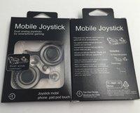 ipad arcade joystick toptan satış-Yeni Joystick mini Cep fling joystick Arcade Oyun Çubuk Denetleyici iPad Android Tablet PC için dhl tarafından ücretsiz kargo