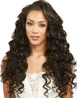 Wholesale Medium Brown Swiss Lace - Loose Wave Full Lace wigs Natural Color Free Part Wave Human Hair Wig Lace Front Wig Loose Wave Brazilian Hair Full Lace Wigs