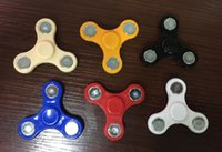 Wholesale Hand Tri Spinner Fidget Toy For Autism And ADHD Kids Adult Funny Anti Stress Toys Plastic EDC Sensory Fidget Tri Spinner with opp bag