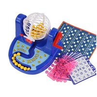 Wholesale Bingo Game - Wholesale-Children Bingo Lotto Game Playing Board Set Early Education Toys Gift for kids