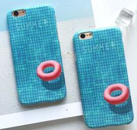 Wholesale Pool Fittings - Summer swimming pool for iPhone 6 7 6s 6plus 6s plus 7plus mobile phone case apple cover