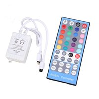 DC 12V-24V 40Keys Controlador RGBW remoto para SMD 3528 5050 300leds RGBW LED Strip Lights