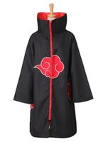 Wholesale naruto cosplay uniform for sale - Group buy Kukucos Unisex Halloween Cape Naruto Cloak Cosplay Costume Uniform Robe A Set Of Cloaks Halloween Party Robe