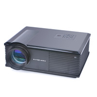 Wholesale Led Projecteur Lcd - Wholesale- Wireless HDMI LED LCD HD projector Video 3D projetor proyector projecteur no need cable connect with phone PC for display