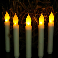 Wholesale romantic flameless candles - Mini Artificial Led Candles For Wedding Birthday Party Decorations Romantic Light Creative Design Elastic Scented Candles Supplies 2 7ag C R