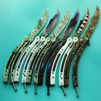 Wholesale Hiking Fire - 30 models benchmade CSGO Cross Fire training magic jilt knife Free-swinging Knife hunting knife 1pcs