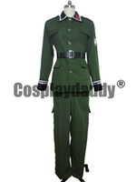 Sound Of The Sky Cosplay Il 1121esimo plotone Uniforme militare Costume H008