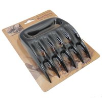 Wholesale 96 Grizzly Bear Paws Meat Claws Handler Fork Tongs Pull Shred Pork BBQ Barbecue Tools BBQ Grilling Accessories