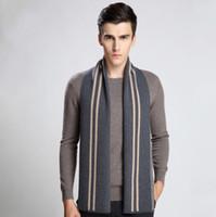 bufanda de invierno de diseo clsico bufanda larga de cachemira caliente hombres bufandas regalos para hombres
