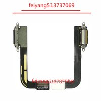 Wholesale ipad dock connector replacement resale online - 5pcs Original for iPad Charging Port Dock Connector Chargre Flex Ribbon Cable Replacement