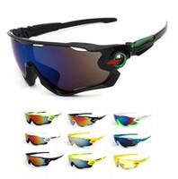 óculos de sol de bicicleta venda por atacado-UV 400 Homens Ciclismo Óculos Esporte Ao Ar Livre Mountain Bike Óculos de Bicicleta Da Motocicleta Óculos De Sol Óculos De Pesca Oculos De Ciclismo