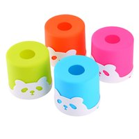 Wholesale Paper Cylinder Box - Wholesale- Hot Sales Panda Paper Cylinder Tissue Colorful Tissue Box Holder Pumping Paper Tissue Box