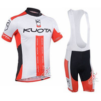 Wholesale kuota cycling team for sale - Group buy 2017 pro team KUOTA RACING Cycling Jersey Bike Clothes Maillot Ciclismo mtb bicycle Clothing quick dry summer mens Sportswear C2923