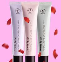 color crema de perlas al por mayor-Innisfree Base de maquillaje mineral Famous Brand Pearl Essence Base de maquillaje BB Cream Primer Innisfree 3 colores