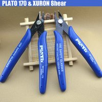 Wholesale pliers for cutting wire for sale - Group buy Plato XURON Shears Multi Functional Flush Cutter Wire Nipper Mini Plier Clamp Cutting Tools for Atomizer DIY RDA heating wire Coil Tool