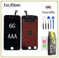 Wholesale iphone digitizer film for sale - 1Pcs Top Quality AAA For iPhone G LCD Display Touch Digitizer Assemble Toughened glass protective film Open Tools