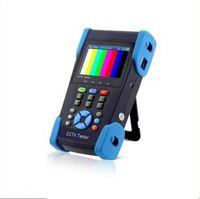 Wholesale Ptz Camera Tester - 3.5inch HD coaxial camera tester CCTV monitor HD AHD CVI TVI SDI 1080P analog camera testing PTZ control 12V ouput ANN