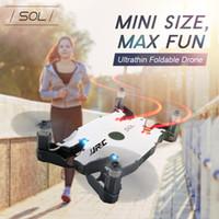 mini video kamera fpv toptan satış-Selfie Drone JJRC H49 H49WH RC Mini Drone ile 720 P HD Wifi FPV Kamera Helikopter RC Drone Bir Anahtar Dönüş