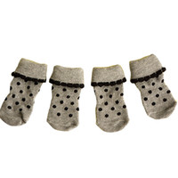 Wholesale Shoes For Groom - High Quality Pet Supplies Dog Socks Cat Puppy Grooming Shoes Elastic Opening Breathable Socks for Cats Puppy Size S-XL JJ0367
