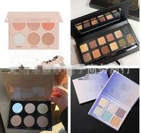 Wholesale Mix Masters - Makeup Master eyeshadow Face Powder Palette Bronzers Highlighter Nicole Glow kit 6 color Blush Palette DHL shipping