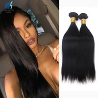 Wholesale Cheap Grade Weave - 4 Bundles Raw Virgin Indian Hair Silky Straight Cheap Color 1B 7A Grade Brazilian Peruvian Malaysian Cambodian Human Hair Weave Bundles