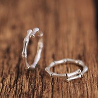 Wholesale Pinkie Ring - South Korea joker original joint pinkie finger ring has high temperament of bamboo bamboo small pure and fresh and open personality