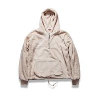 Wholesale Tyga Hoodies - Wholesale-men's half zipper pullover fleece sherpa hoodie streetwear cool kanye west fashion hip hop urban clothing justin biebers tyga