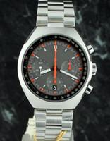 Wholesale mark x - Excellent High Quality 46mm x 42mm Mark II 327.10.43.50.06.001 Quartz Chronograph Working Mens Watch Stainless Steel Men's Sport Wrist Watch