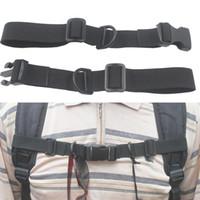 Wholesale Webbing Straps Adjustable - Nylon webbing Sternum Strap backpack chest harness Open Loop Universal Adjustable Nylon Sternum Straps Chest Harness for Backpack HJ085
