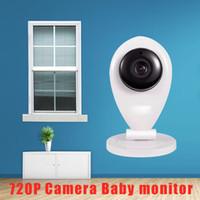 Wholesale People Wireless - Wholesale- (1 PCS) SP009 Wireless MINI Camera 720P HD IP Camera Baby Old people Surveillance Monitor Smart Home WIFI Camera CMOS