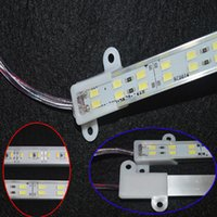 Wholesale aluminium strip lighting resale online - 5630 Led Strip Bar Light Aluminium Alloy Shell Waterproof Led Light M M Warm White Cool White strip light with Double Row