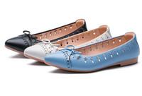 ingrosso le donne confortevoli lavorano le scarpe-2017 nuovi arrivati scarpe estive delle donne di modo appartamenti pattini casuali vuoti scarpe da lavoro comode spedizione gratuita
