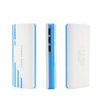 güç bankası samsung s6 toptan satış-Yeni Stil Romoss 20000 mAh Güç Banka LED Ile 3USB Harici Pil Taşınabilir Güç Bankalar Şarj iphone 6 s Samsung s6 Android Telefonlar