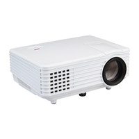 Wholesale Dlp Projector Glasses - Wholesale-RD805 800 Lumen pico LED Projector Mini Portable RD-805 Beamer Cinema Proyector VGA TV USB HDMI AV Gift 3D Glasses & HDMI Cable