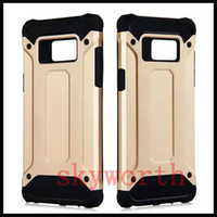 Wholesale j7 prime armor online – custom Rugged Case Soft TPU Hybrid Armor Shockproof Cover for iphone X XS XR Max Plus Samsung Galaxy Note S8 J7 Prime