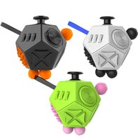 Wholesale Toy Gifts Wholesale Direct - Magic New Arrival Fidget Cube 2 Toys for Girl Boys First Gift Anti Stress decompression toy for adult factory direct free shipping DHL