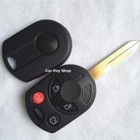 Wholesale Ford Key Fob Wholesale - Free Shipping 4 BUTTONS KEYLESS REMOTE FOB KEY SHELL FOR FORD EDGE RAPTOR ESCAPE REPLACEMENT CASE