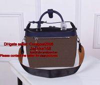 Wholesale Handbag City - CITY CRUISER PM GARANCE women's real canvas + genuine leather handbag tote shoulder bag Cross Body Satchel boston M42410 M52008