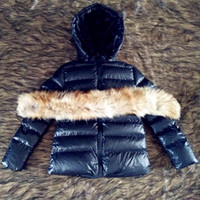 Wholesale Korean Fur Hooded Jacket - Winter Raccoon Faux Fur Parka Korean Fashion Women Duck Down Jacket Short Slim Warm Winter Parka Coats FS3059