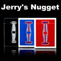 black comedy plays - 1pcs Jerry s Net Playing Cards Poker only Black Available Card Magic Trick Illusion Close Up Prop Mentalism Comedy