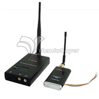 Wholesale Monitor For Fpv - Wholesale- MK 1.2G 1.5W FPV TX RX 15CH Wireless Audio Video Transmission Monitor for FPV Photography