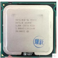 Wholesale Wholesale Cpu Processors - Wholesale- E5472 3.0GHz 12MB 1600Mhz Quad Core CPU Processor works on LGA775 mainboard no need adapter
