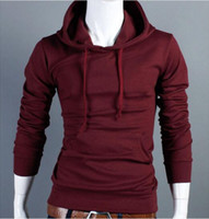 Wholesale China Man Casual - Wholesale-Hoodies Men 2016 Fashion Casual Cotton Long Sleeve Slim Fitness Chandal Hombre Sweatshirts Boys China Clothing M-XXL