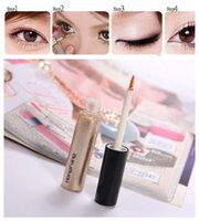 Wholesale Cheap Makeup Products - Wholesale-8 Colors to Choose Women's Cheap Liquid Eyeliner Shimmer Eyeliner gel Glitter Radiant Makeup Cosmetic products High Quality