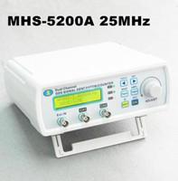 ingrosso spia rf rivelatore di telecamere senza fili-Freeshipping Alta precisione Digital DDS Generatore di segnale a doppio canale Arbitrario 25MHz Frequency Meter