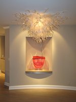 luces colgantes estilo barco al por mayor-Nueva llegada Rustic Pendant Lighting Cocina Envío gratis Murano Style Wedding Decor Chandelier Light en Dubai