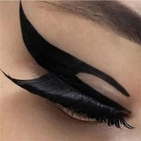 Wholesale-Neue Ankunft 20 Pairs Fashion Temporäre Eye Tattoo Transfer Lidschatten Eyeliner Aufkleber DYY1018