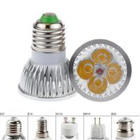 Wholesale cheap spotlights for sale - High power GU10 MR16 E27 E14 G5 W x3W Dimmable Led Light Lamp Spotlight led bulb cheap