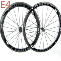 Wholesale Wheelset Clincher China - Hot Sale china carbon bike wheels front 50mm rear 60mm bicycle road wheelset clincher with powerway hubs carbon wheels road free shipping